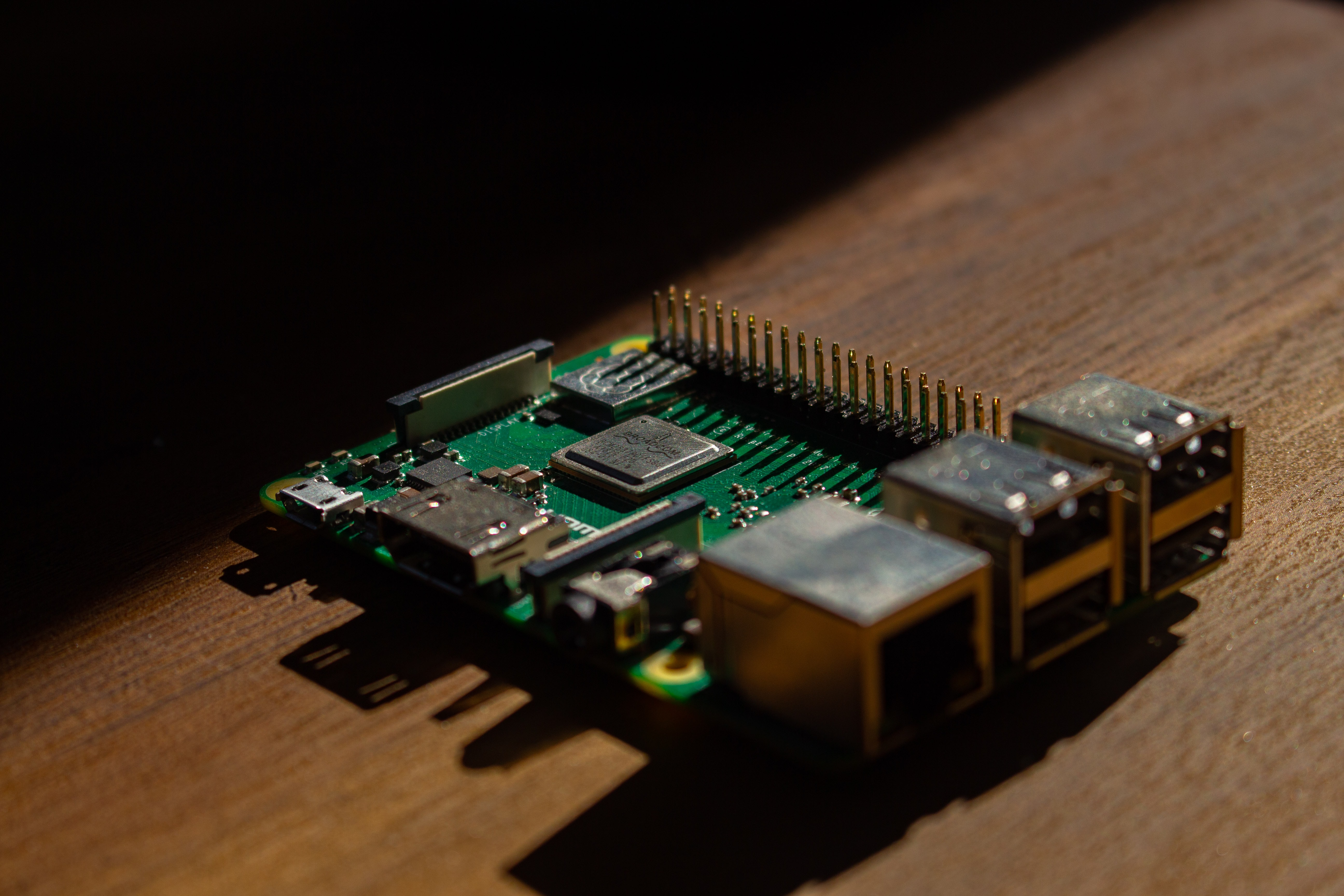 image from Rustberry PI - LED